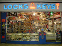Locks & Keys Storefront - Woburn Mall, Woburn, MA